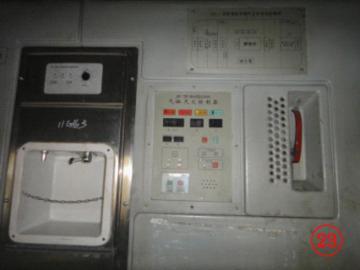 安装于驾驶室的气体灭火控制器